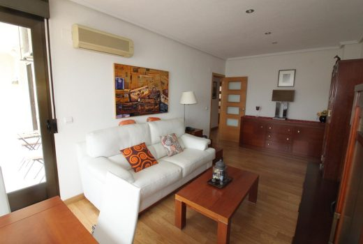 Ref. 28 Campello, casco urbano, piso 3 dormitorios con plaza de garaje