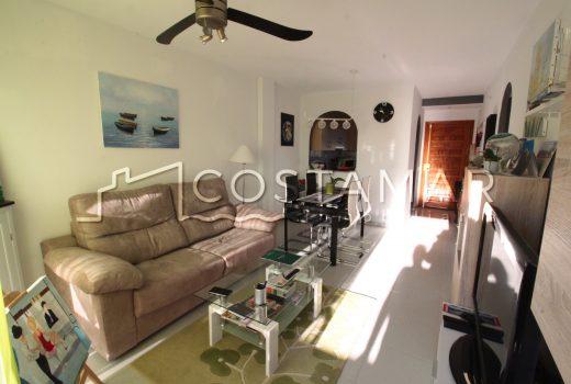 Ref. 33 A 600 mts. de la playa de Muchavista. Apartamento 2 dormitorios.