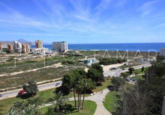 Ref. 38 Campello, 2ª línea de playa. A 300 metros del mar. Vivienda 2 dormitorios. Urbanización.