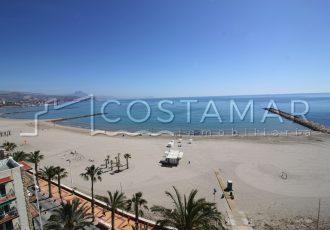 Ref. 20036 Paseo Marítimo Campello. Alquiler larga temporada. Vivienda 2 dormitorios. Vistas al mar.