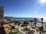 Ref. 21 Albufereta. Alicante. 1ª línea playa. Vivienda 4 dormitorios. Garaje. Urbanización.