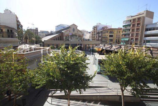 Ref. 20029 Alicante Frente Mercado Central. Alquiler anual. Vivienda 3 dormitorios.